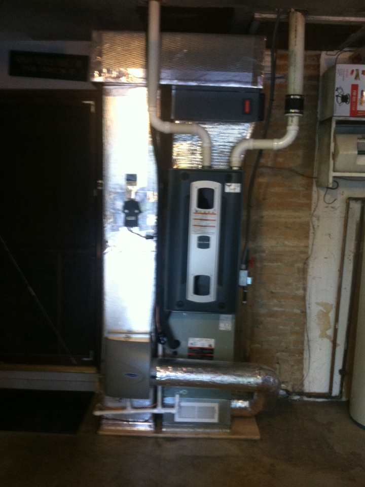 Plainfield, IN - Installed new system
