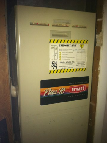 Indianapolis, IN - Cleaning a Bryant gas furnace