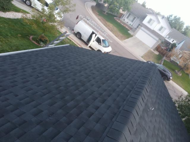 Longmont, CO - Residential roof replacement using Charcoal GAF Timberline HD shingles in Longmont, Colorado.
