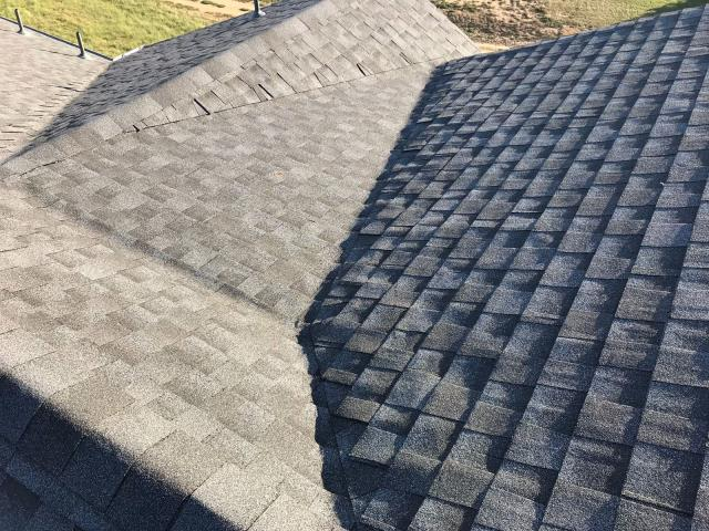 Longmont, CO - Residential roof replacement using Pewter Gray GAF Timberline HD shingles in Longmont, Colorado.