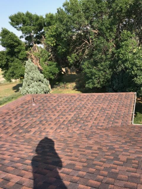 Greeley, CO - Residential roof replacement using Barkwood GAF Timberline HD shingles in Greeley, Colorado.