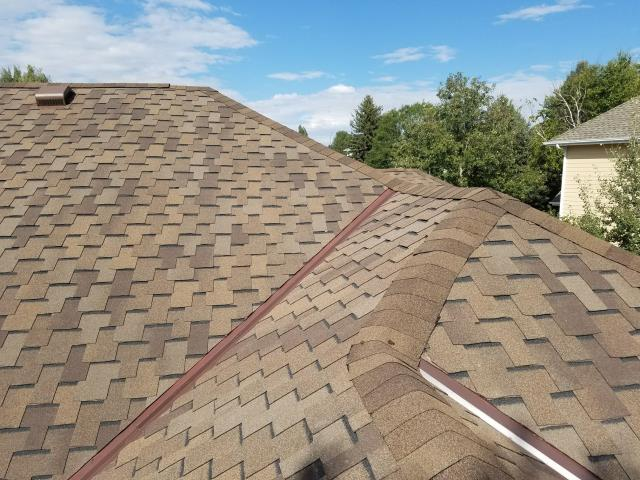 Fort Collins, CO - Residential roof replacement using Mesa Brown GAF Grand Sequoia shingles in Fort Collins, Colorado.
