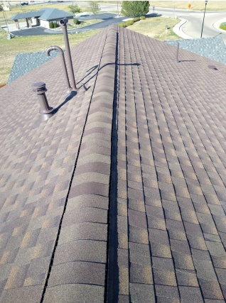 Dacono, CO - Residential roof replacement using Hickory GAF Armorshield II shingles in Frederick, Colorado.