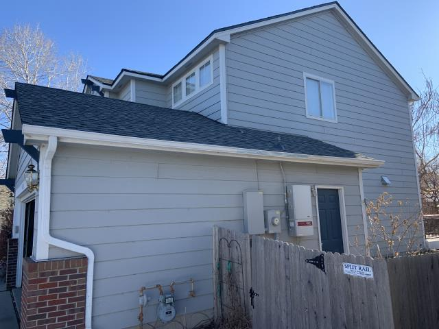 Lafayette, CO - Residential roof replacement using Slate GAF Armorshield II shingles in Lafayette, Colorado.