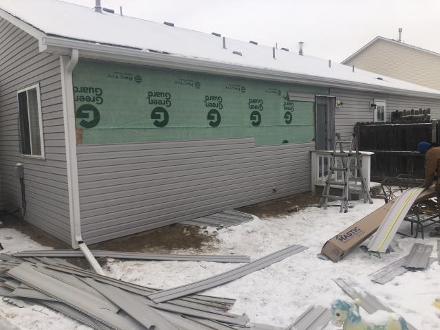 Greeley, CO - Residential siding replacement in Greeley, Colorado.