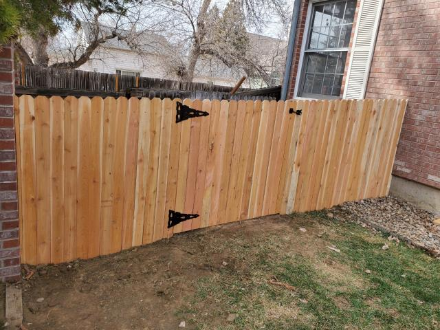 Longmont, CO - This returning customer in Longmont needed some fencing work taken care of, and they knew who to call!