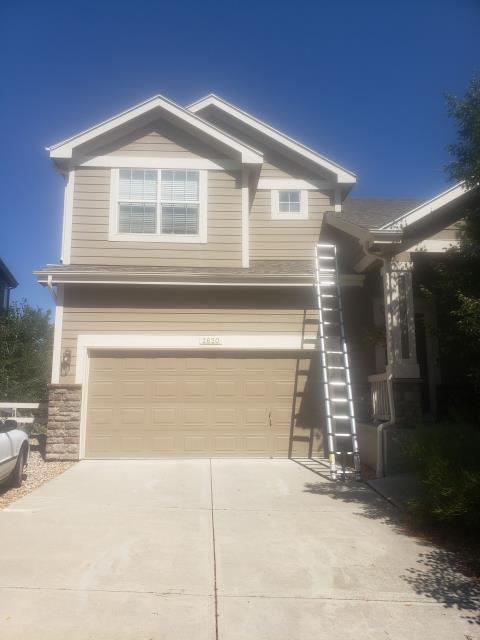 Fort Collins, CO - One of our project managers snapped a picture of this Fort Collins home before he began a full exterior inspection. Ultimately, the home ended up needing a new roof and a few new windows. We took care of both trades and got the customer's home back to normal ASAP!