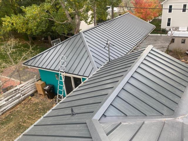Boulder, CO - Upgrade your roof with a standing seam metal roof project!