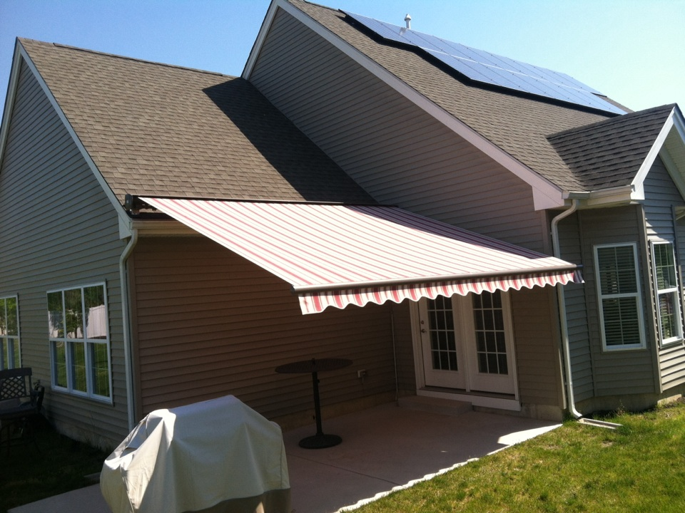 Egg Harbor Township, NJ - A beautiful day for an awning! MiamiSomers can provide you with all the shade you need! Come to our show room today and check out all of our new and exciting outdoor living products! 505 New Rd. Somers Point NJ.
