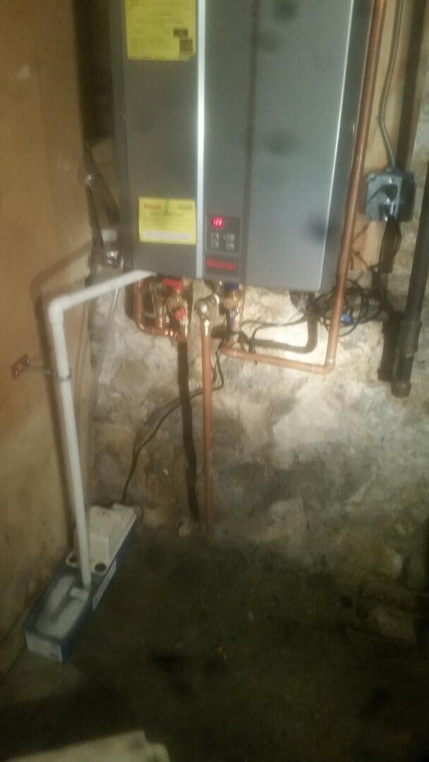 Cambridge, MA - Install renai water heater