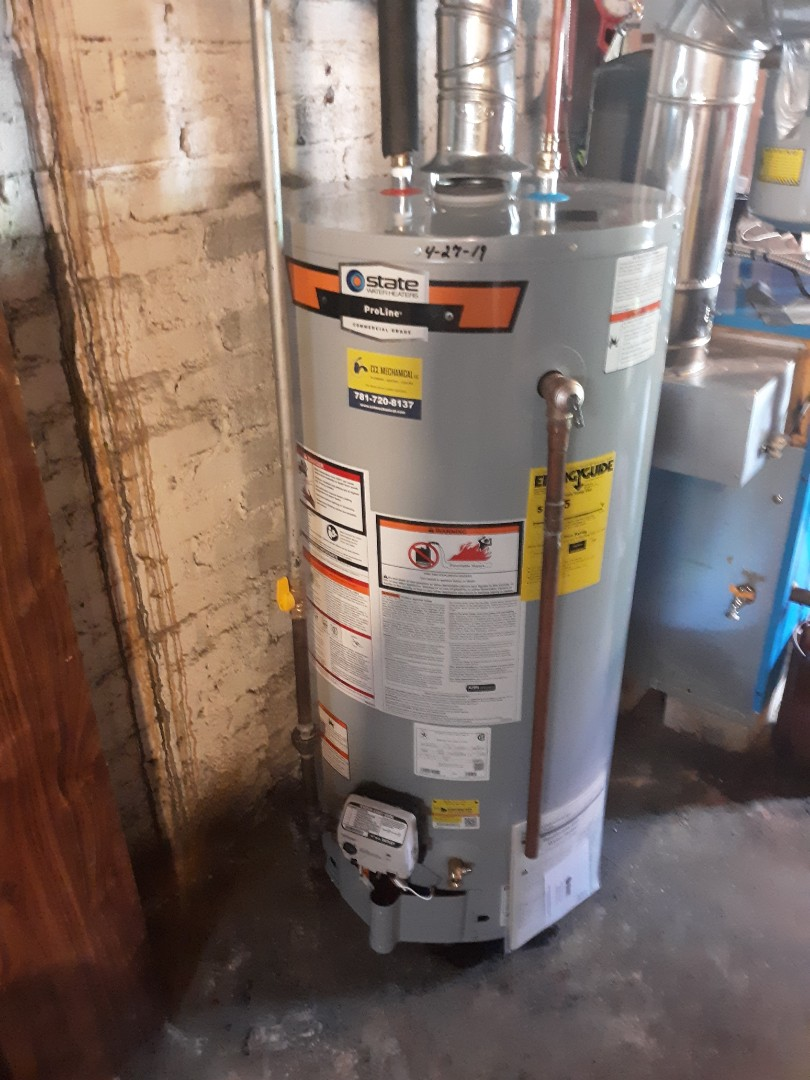 Boston, MA - Water heater replacement