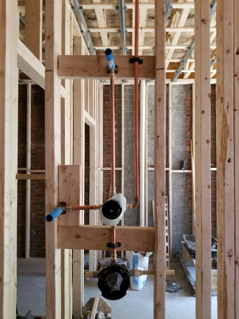 Boston, MA - Plumbing for kitchen and bathrooms, house renovation