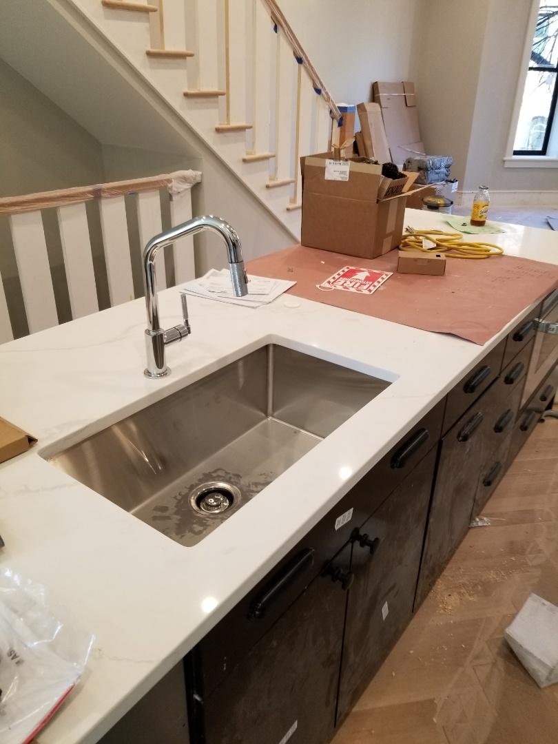 Boston, MA - Finish plumbing