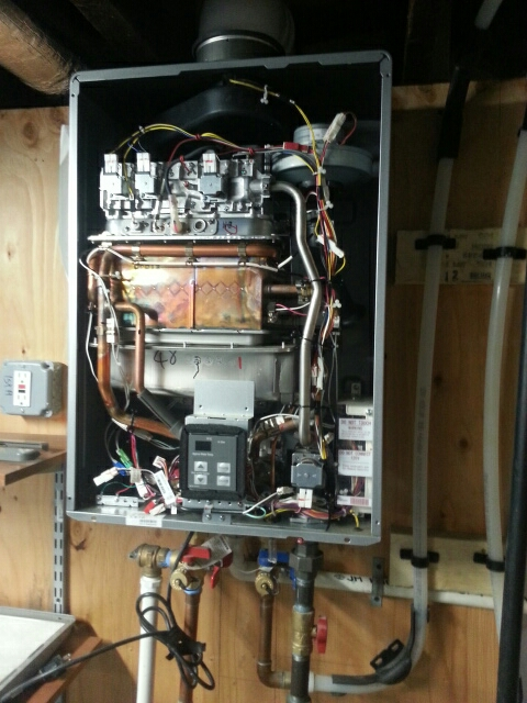 Somerville, MA - Performed Rinnai maintenance service