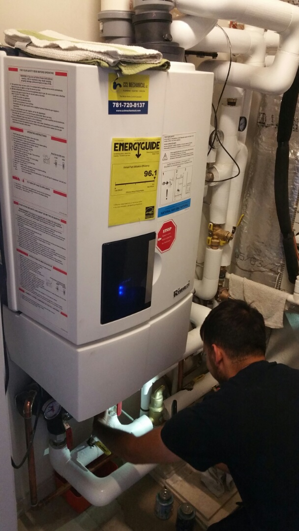 Brookline, MA - Rinnai on demand water heater maintenance