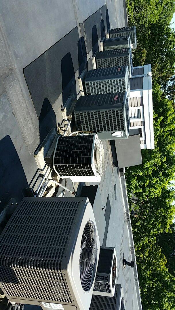 Brookline, MA - Ac maintenance goodman unit