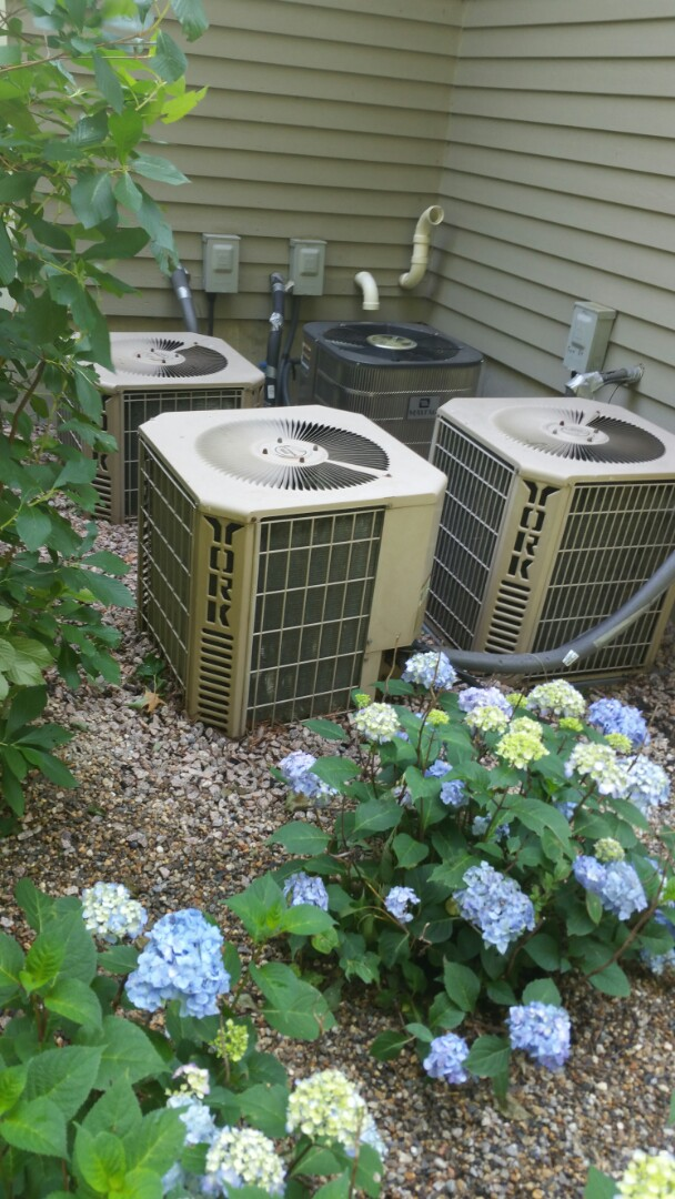 Sudbury, MA - Air conditioning maintenance and clogged drain