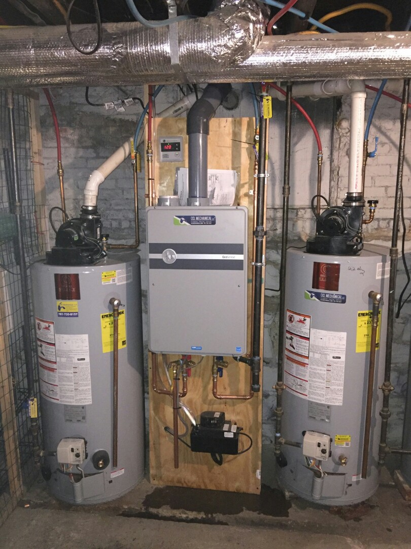 Weston, MA - Plumber needed. Replace 30 gallon electric water heater