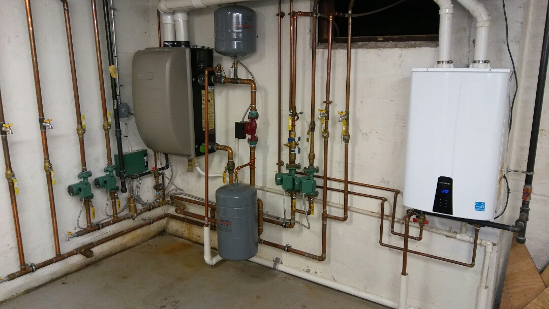 Needham, MA - Navien and Weil McLain system maintenance
