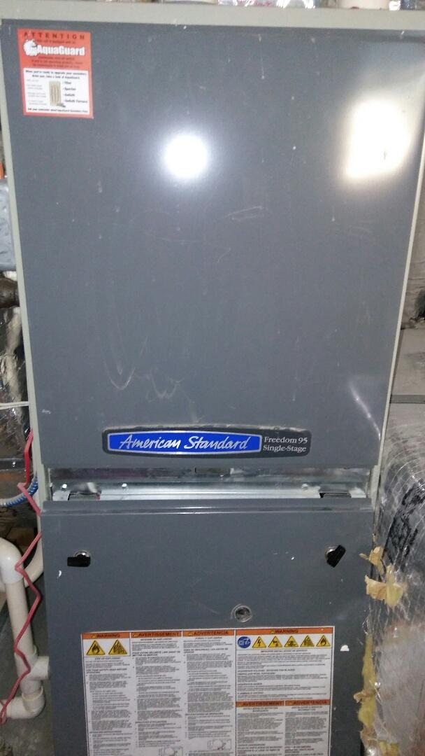 Somerville, MA - American standard Furnace Service