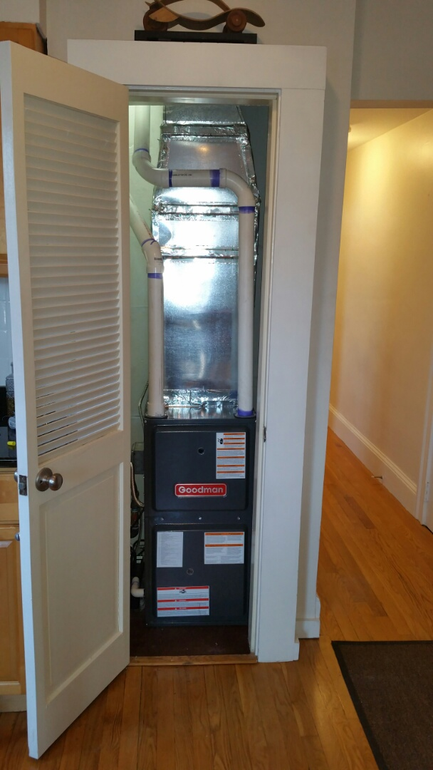 Boston, MA - Install new goodman modulating furnace