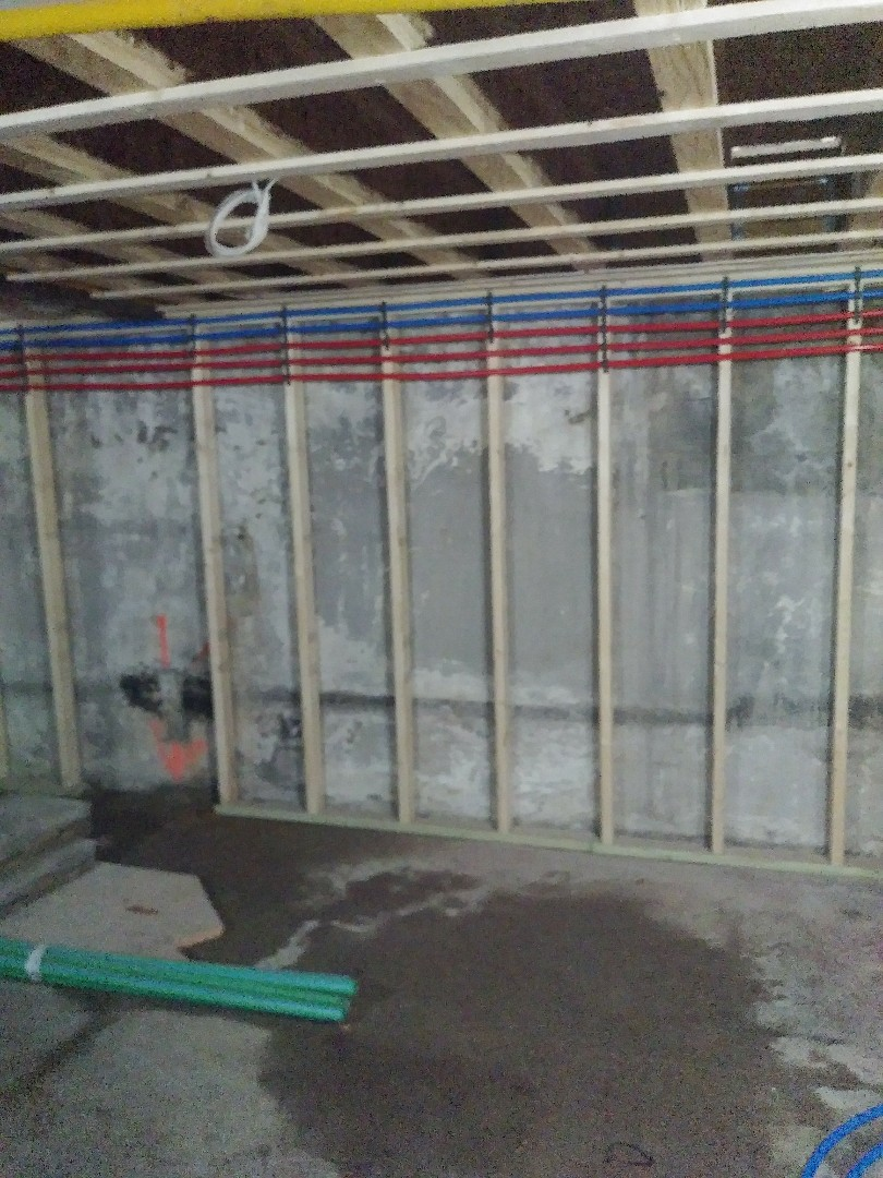 Brookline, MA - Start of Plumbing remodel