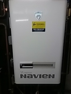 Boston, MA - Service on Navien tankless boiler and water heater