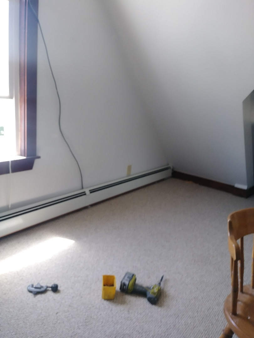 Waltham, MA - Installation of baseboard heat