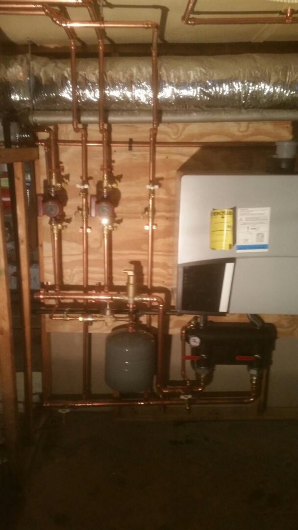 Belmont, MA - Install new Viessmann high efficiency hot water boiler