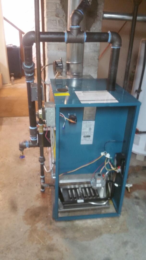 Watertown, MA - Install steam boiler