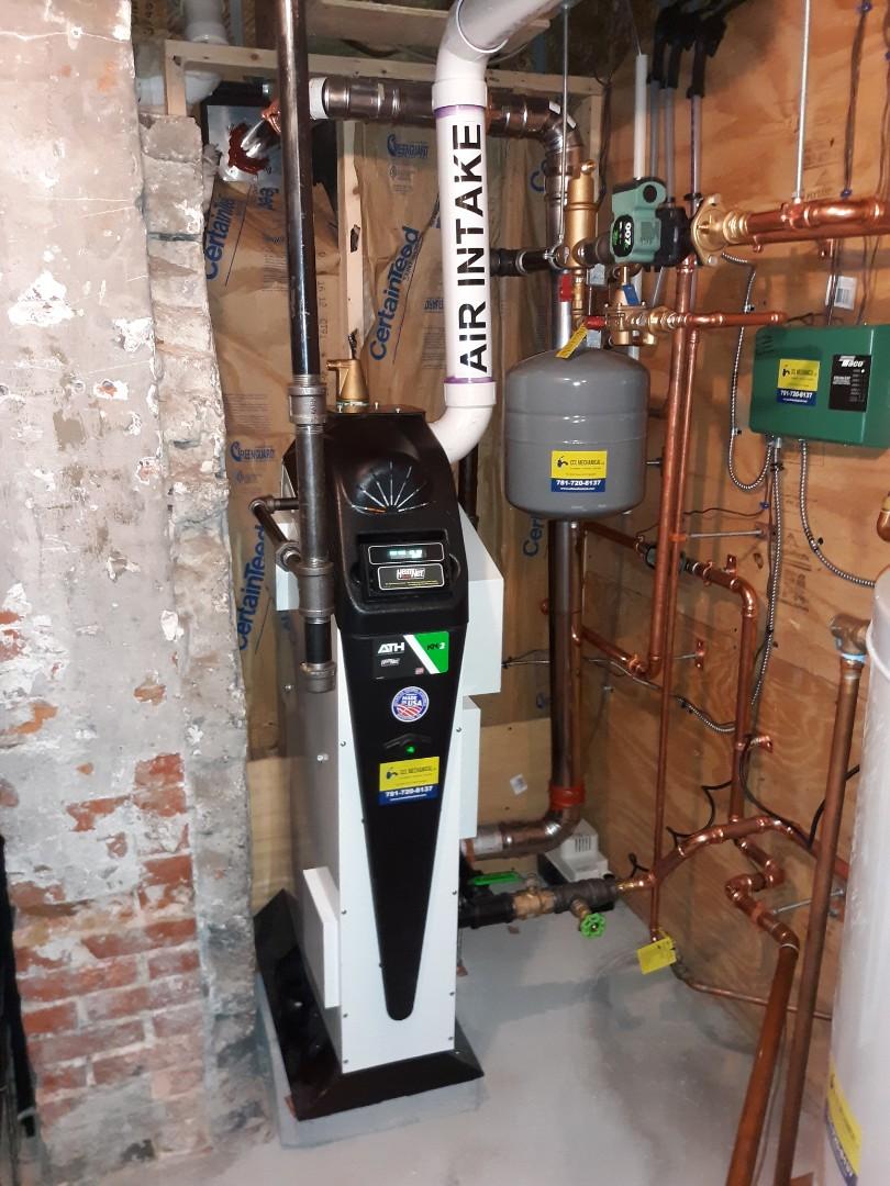 Boston, MA - High efficiency boiler installation