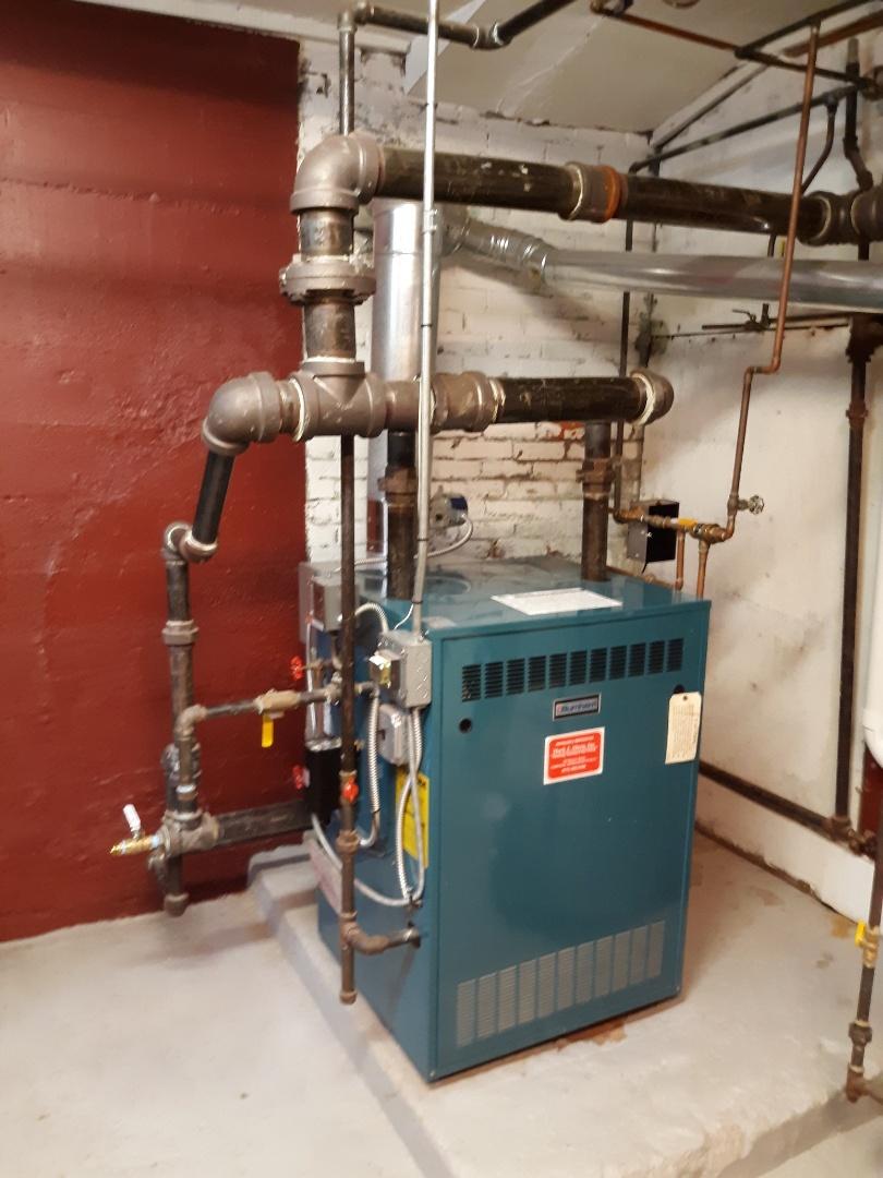 Waltham, MA - Burnham steam boiler repair service