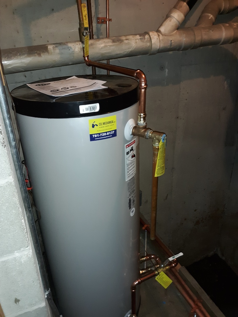 Cambridge, MA - Indirect water heater installation