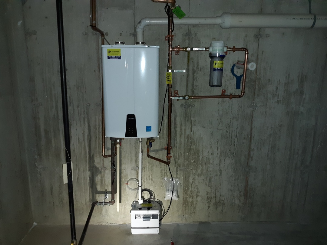 Sudbury, MA - Navien water heater repair