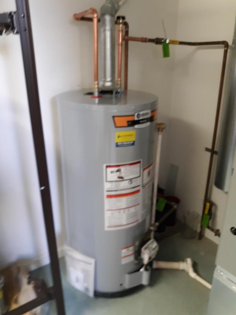 Lexington, MA - Gas water heater installation
