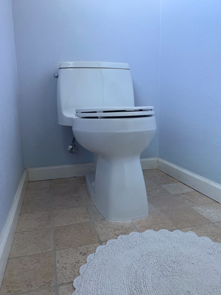 Toilet Replacement, Customer Supplied Toilet, Gerry Suarez
