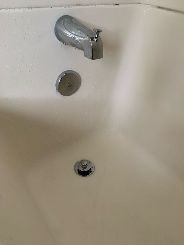 Tub spout replacement, trip toe drain conversion kit, overflow gasket replacement