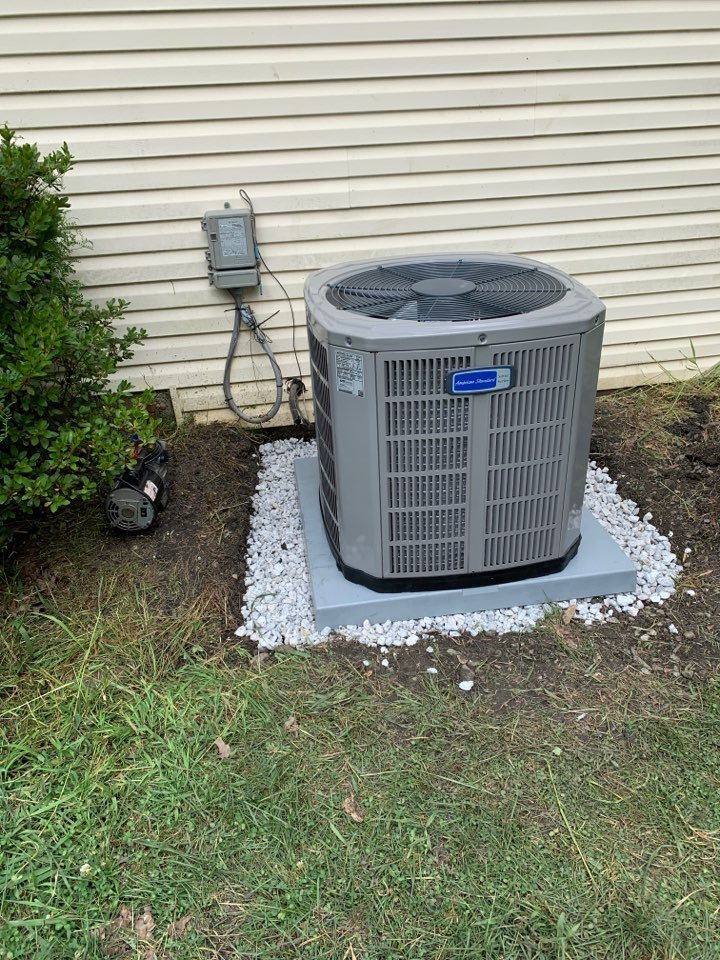 Thorndale, PA - New HVAC system in Thorndale today 2.5 Ton AC new gas furnace the price is right and the customer upgraded to an ecobee WiFi thermostat that connects to Alexa for voice commands