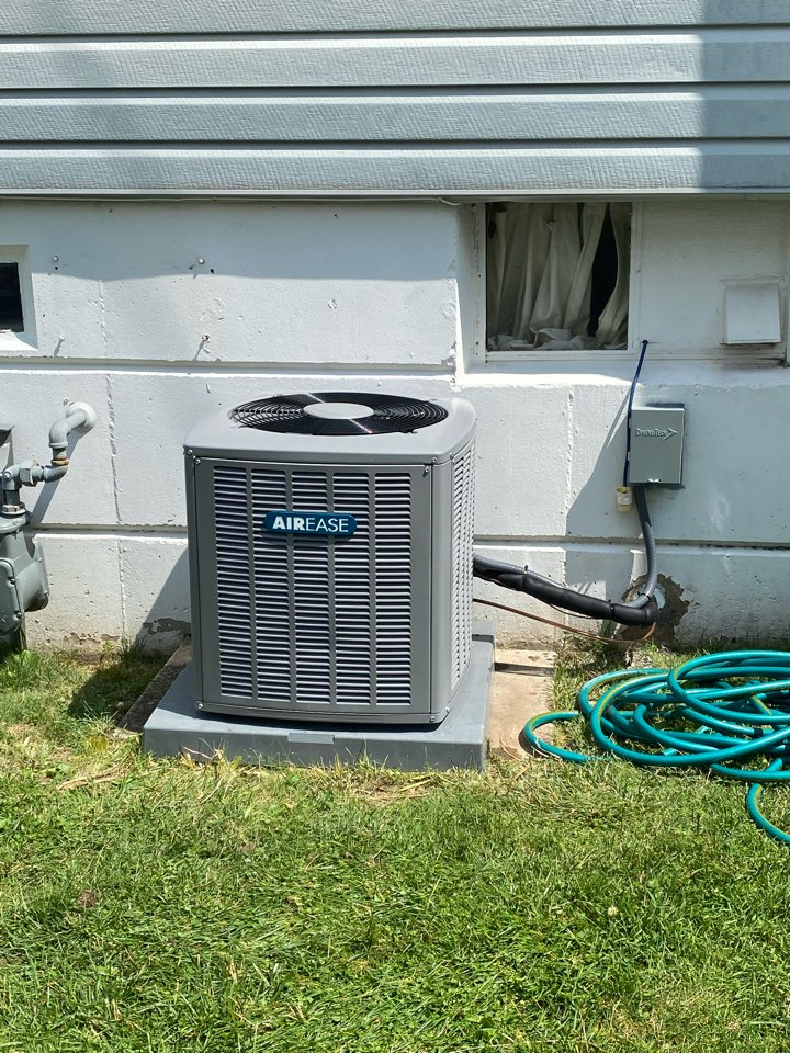 Norristown, PA - AirEase heater and Ac install