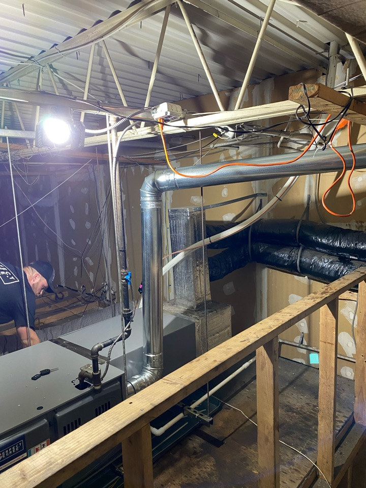 Newtown Square, PA - AC and Furnace install