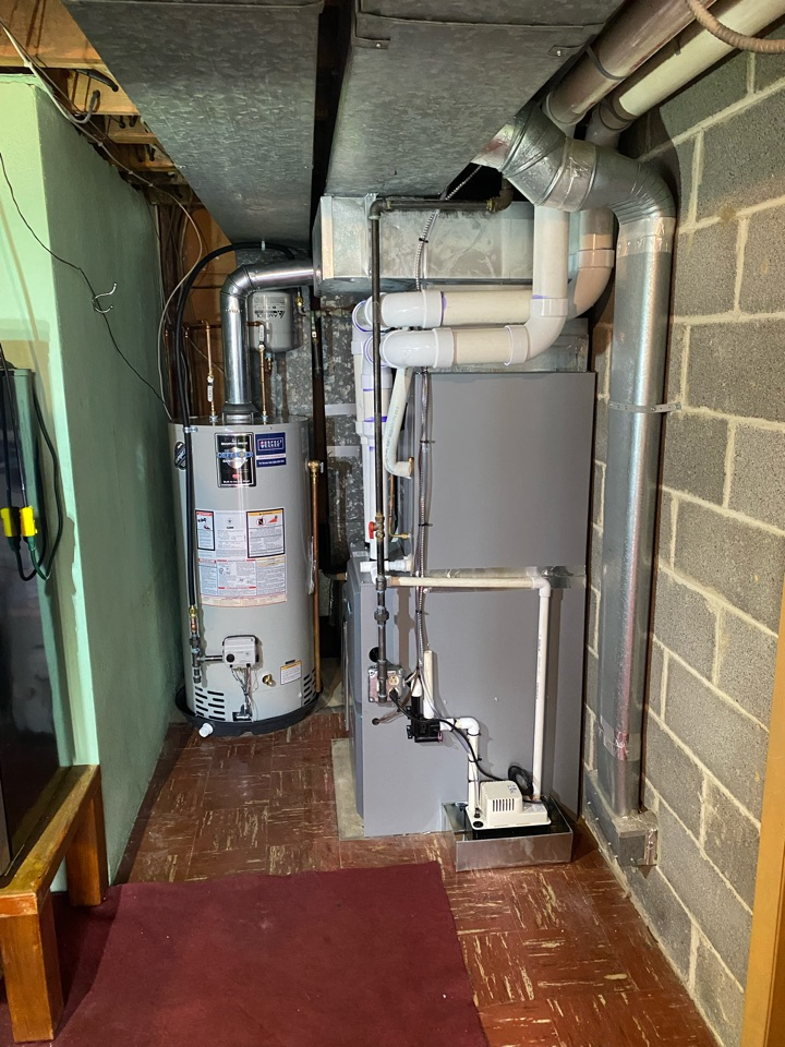 Broomall, PA - New furnace/ A/C and hot water heater