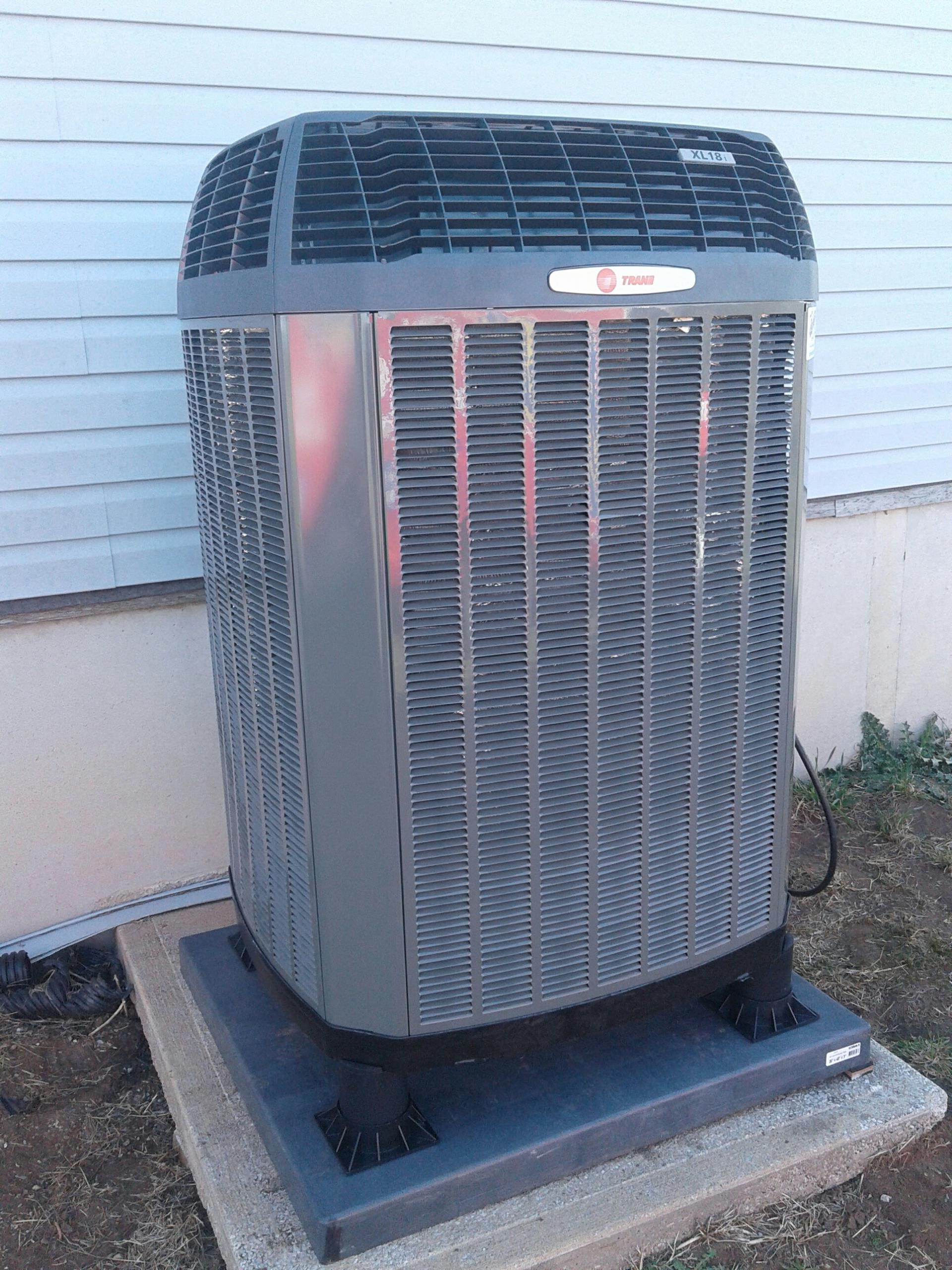 Cleveland, MO - Installation of trane xl18i heat pump and tam7 air handler