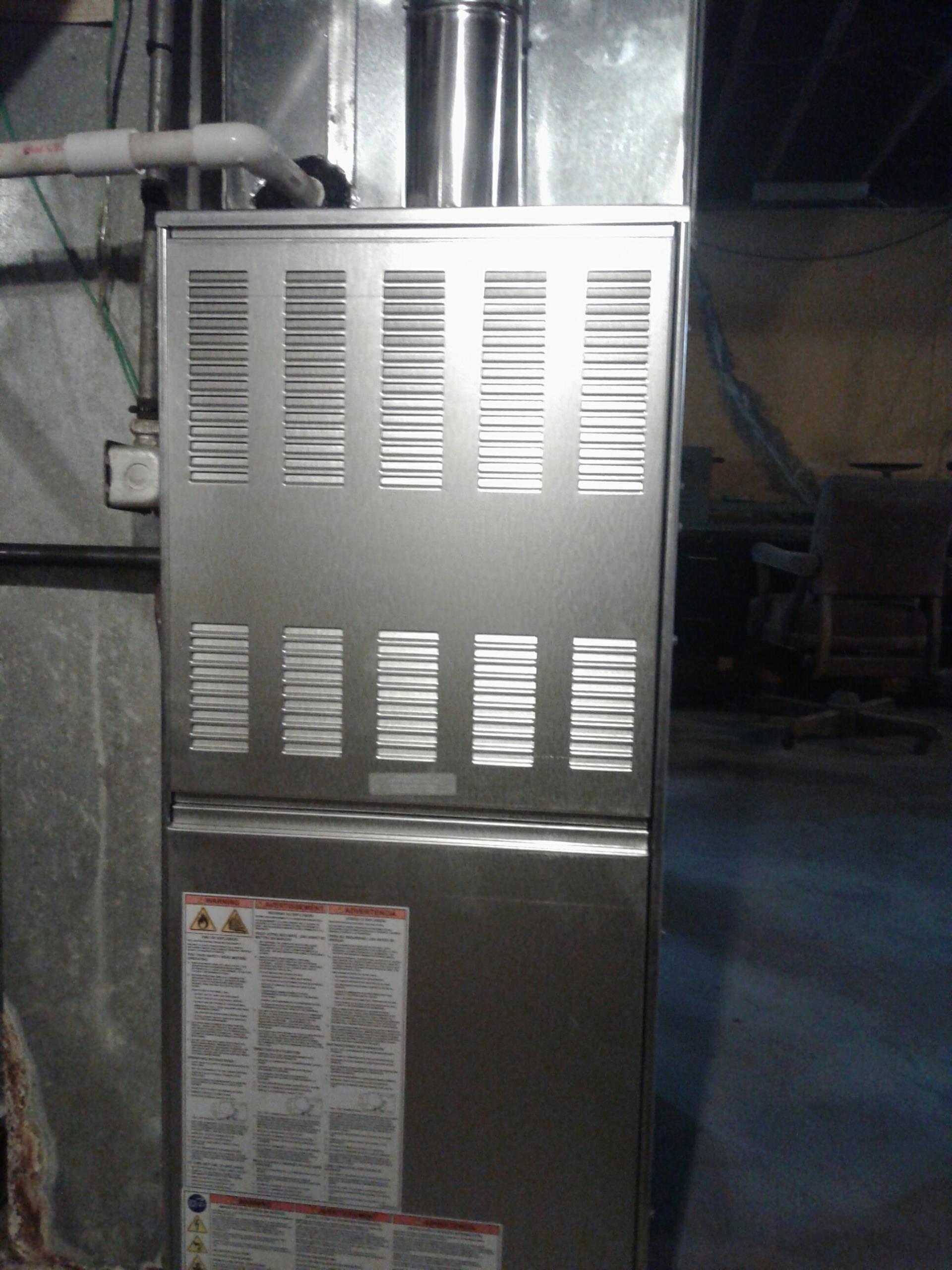 Grandview, MO - Ameristar furnace install