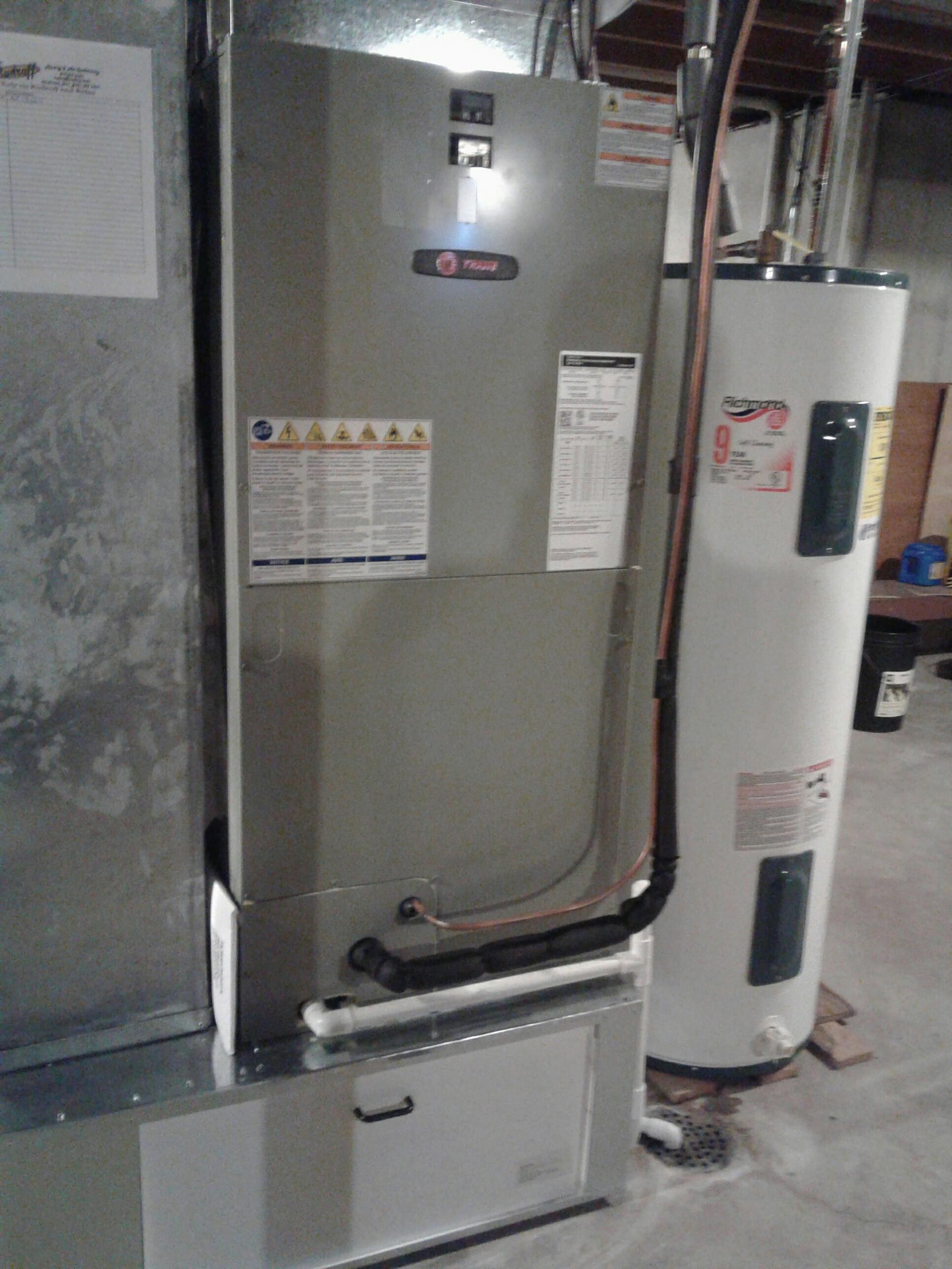 Cleveland, MO - Install heat pump, air handler, heat strips, and thermostat.