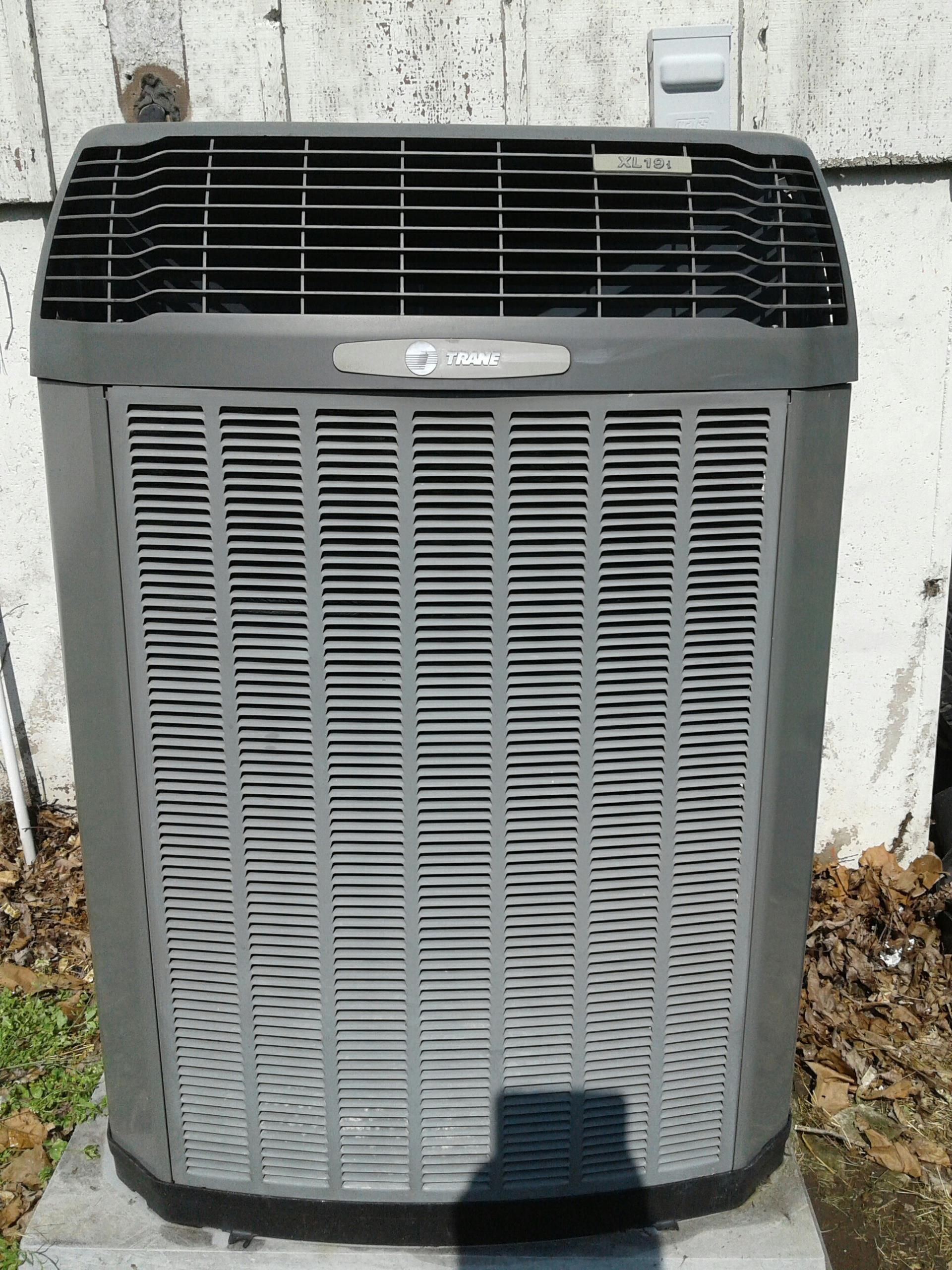 Harrisonville, MO - Perform maintenance on two air conditioners, two air handlers, and replaced batteries  in two thermostats.
