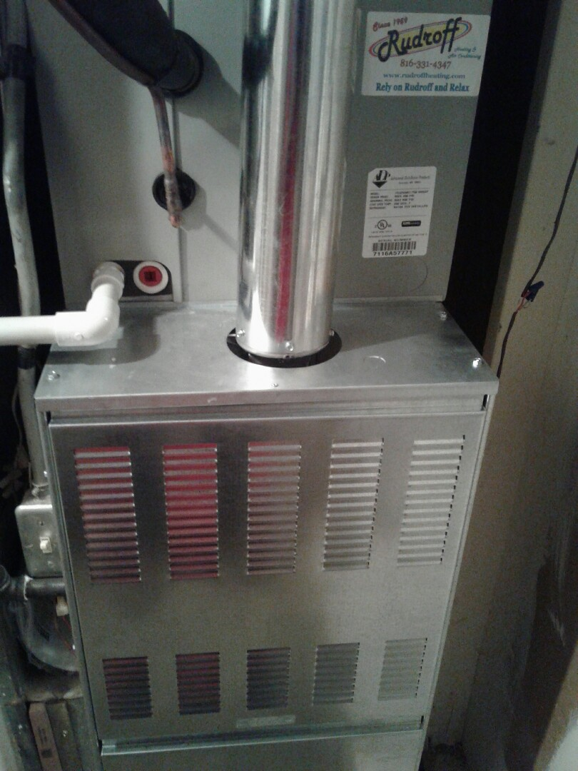 Harrisonville, MO - Install furnace, air conditioner, and thermostat
