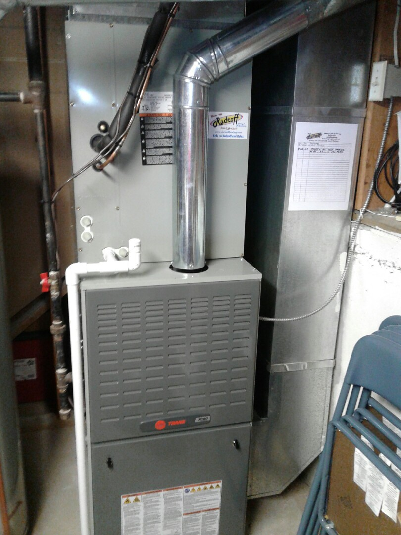 Independence, MO - Performed maintenance on Trane furnace