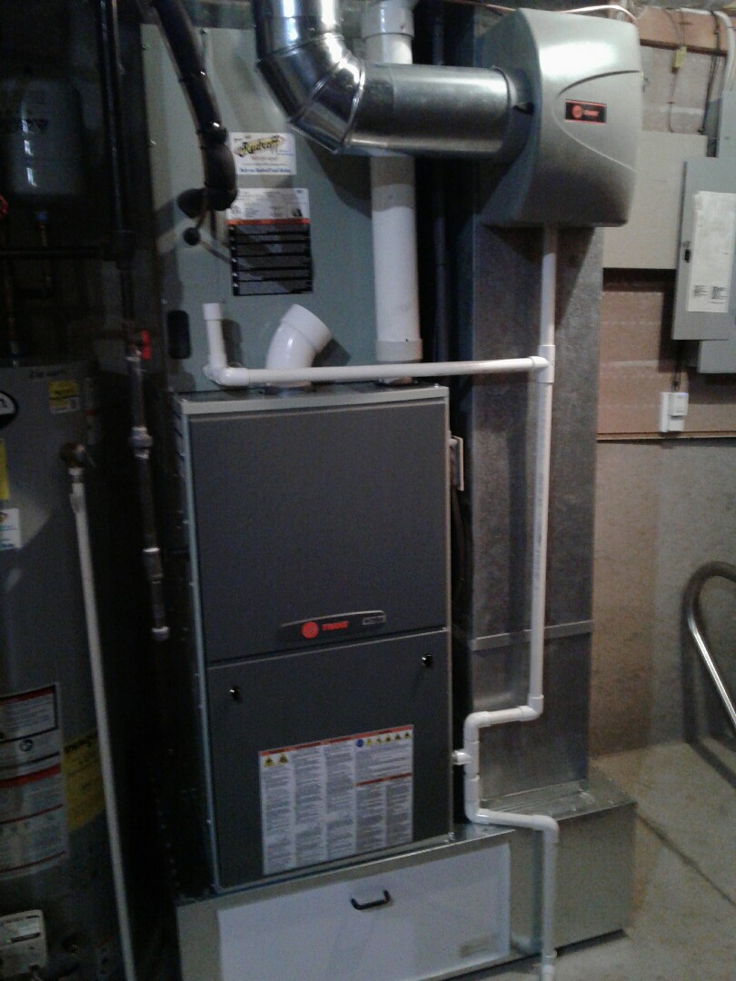 Lees Summit, MO - Install modulating furnace, variable speed air conditioner, zoning system, and humidifier