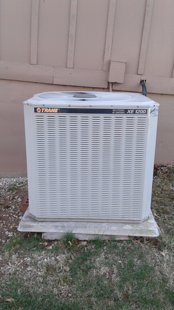 Grandview, MO - Ac spring Tune up on trane ac