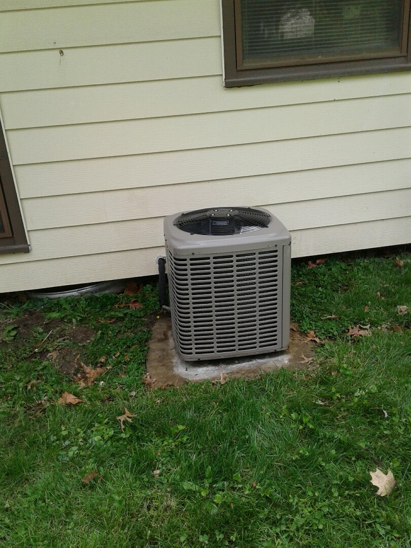 Belton, MO - Perform maintenance on air conditioner